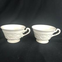 2 Wedgwood of Etruria & Barlaston Patrician Cups - $24.18