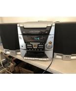 RCA RS2600 5 Disc Shelf CD Changer Player - Cassette - AM FM Radio Stere... - $74.20