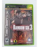 Tom Clancy's Rainbow Six 3 (Microsoft Xbox, 2003) - $4.90