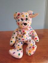 TY Beanie Babies Baby plush BEAR TY 2K  w/Tag 2000 - $10.89