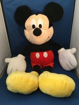 """Mickey Mouse Large 22"""" Plush Walt Disney Mickey Mouse Clubhouse Preowned... - $9.25"""
