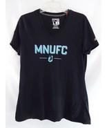 Adidas V Neck Short Sleeves Minnesota United MNUFC MLS Soccer Sz Large - $19.79