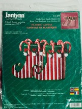 Janlynn Christmas Plastic Canvas Kit #60-205, Jingle Boot Candy Holder Kit, 2002 - $18.37