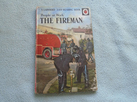 Vintage 1962  Lady Bird Book People At Work Firemen Series 606B - $7.94