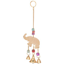 """Beautiful Chime Elephant Polished Brass Bells Big Bell 1"""" Small Bell 0.5... - $7.69"""
