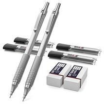 Nicpro Mechanical Pencils Set, Metal Automatic Drafting Pencil 0.5 mm an... - $12.86
