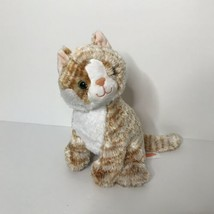 "Melissa & Doug Pumpkin Tabby Cat Plush Stuffed Animal #7527 10"" Tall Sit... - $19.80"