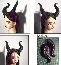 Twisted Wonderland Malleus Draconia Horns Cosplay for Sale - $33.00