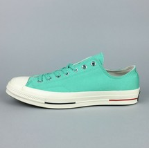 New Converse Chuck 70 Ox Low Top Sneaker Size 11 Men's Turquoise 160495C - $47.99