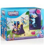 WowWee Fingerlings 2 Monkeys w/ Teeter Totter Interactive Playset Willy ... - $39.59