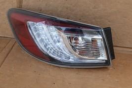10-13 Mazda3 Mazda 3 Hatchback LED Outer Tail Light Taillight Driver Left LH image 2