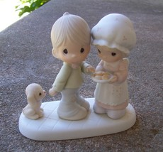 1986 PRECIOUS MOMENTS Sharing Our Christmas Together 102490  - $24.99