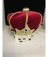 Little Day Dreamers by Elope Halloween Costume Fur Trim Crown Hat FREE S... - $24.70
