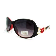 Women's Fashion Sunglasses Oval Round Frame Heart Design - $7.95