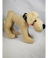 "Dakin Dem Bones Dog Plush  Stuffed Animal Applause Long Legs Beige Tan Fuzzy 10"" - $14.99"