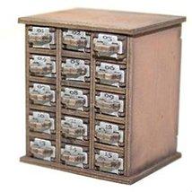 4Ground 28mm Furniture: Light Wood Safety Deposit Box 1 -15
