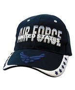 NEW USAF U.S. Air Force Baseball cap hat. Navy Blue. 5762 - $15.95