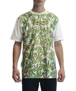 New Men's Weed Marijuana Mesh White T-Shirt Plantlife Jetlife 420 Suprem... - $19.99