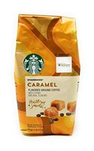 Starbucks Natural Fusions Ground Coffee, Caramel Flavored, 11-Ounce Pack... - $22.99