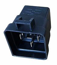 """Change-Over Relay 5-Pin Terminal 12 Volt 40 Amp and 12"""" Connector Pigtail Set image 3"""