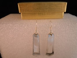 International Anniversary 1923 Earrings Silverplate - $38.30