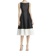 Adrianna Papell Boat Neck Sleeveless Zipper Back A-Line Color Block Mika... - $98.99+