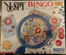 I Spy Bingo Briarpatch Scholastic Educational Board Game Ages 4+ 2003 Ne... - $23.17