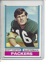 (B-1) 1974 Topps Football #31: Scott Hunter - $5.50