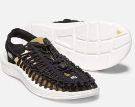 Keen Uneek Taille US 9 M (D) 42 Homme Sandales Sport Chaussures Noires