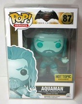 Funko Pop! Heroes Aquaman #87 Hot Topic Exclusive New Batman Vs. Superman - $16.74