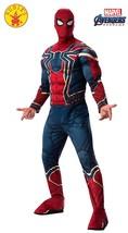 Iron Spider Avengers Endgame Marvel Fancy Dress Halloween Deluxe Adult C... - $63.53