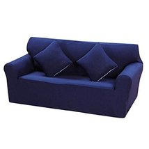 George Jimmy Deep Blue Couch Double Sofa Covers Modern Sofa Cushions Slipcover D - $52.15