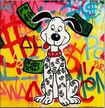 Alec Monopoly Bansky Oil Painting on Canvas Urban art Wall Decor Money D... - $24.74