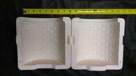 Duncan Molds Large Basket Cannister #145 Ceramic or Porcelain Slip Casti... - $79.48