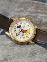 Vintage Lorus Mickey Mouse Watch V501-6N70 Unisex Quartz 26mm Working - $11.90