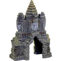 Blue Ribbon Pet Gray Exotic Environments Angkor Wat Temple Gate Medium 0... - $30.62