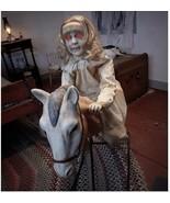 Halloween 3 Ft Rocking Horse Dolly Animatronics - $445.50