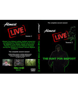 Almost Live:The Hunt for Bigfoot (DVD,2018) Real Bigfoot Research! 2 Dis... - $14.85