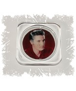 Elvis Presley, Square Glass Coaster Gift, Limited Edition | Cellini Plaq... - $12.82
