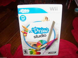 uDraw Studio Game  (Wii, 2011) with uDraw Game Tablet EUC  - $85.00