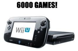 Nintendo Wii U Console Complete with over 6000 games installed! - $399.95+