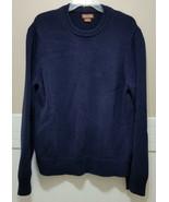 MICHEAL KORS Navy Blue Knit Sweater Mens XXL Crew Neck Warm Winter Pullo... - $21.76