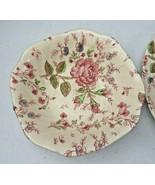 Vintage Johnson Bros England ROSE CHINTZ bowl - $12.00