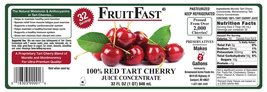 "1 QUART Tart Cherry & 1 QUART Cranberry ""Cold Filled"" Juice Concentrates - Shipp image 7"