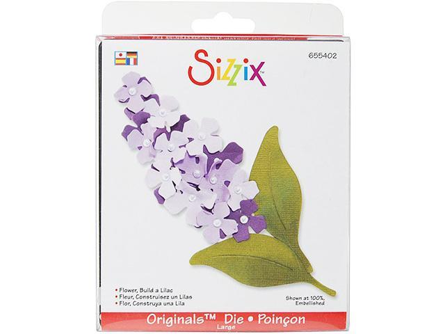 Sizzix Originals Build a Lilac Flower Die #655402