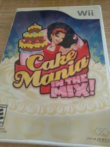 Nintendo Wii Cake Mania: In The Mix - Complete image 1