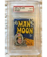 1969 O-Pee-Chee Man On the Moon Wax Pack Mint 9 Sealed Graded - $217.75