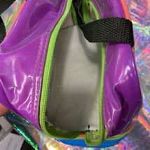 VINTAGE GUC Lisa Frank Smiley Face Smilies Insulated Lunch Tote Bag Mini Retro image 5
