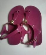 Michael Kors Dark Pink Buckle Sandals -9M - $39.00