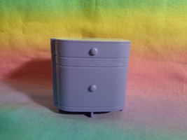 Spin Master 2011 Ever After Dollhouse Nightstand Lavender & White- as is... - $2.95